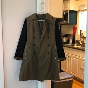 H&M Military Trench